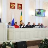Депутаты одобрили законопроекты, разработанные областным министерством труда, соцзащиты и демографии