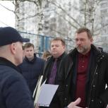 Дмитрий Саблин обсудил с жителями района Тропарёво-Никулино идеи благоустройства
