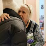 Ветеранов Великой Отечественной войны из Сокола и Уптара поздравили с Международным женским днем