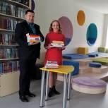 Елена Кашкарова посетила Модельную библиотеку в городе Ишиме