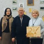 В Центральной городской библиотеке открылся кабинет Якова Полонского