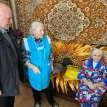 Николай Островский поздравил ветерана с вековым юбилеем