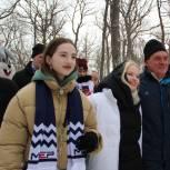 На Масленицу пензенские единороссы приготовили для жителей областного центра более 1 000 блинов
