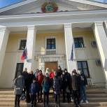 Красногорские сторонники сводили гимназистов в Государственный архив кинофотодокументов