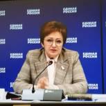 Елена Бибикова рассказала об актуальных вопросах пенсионного обеспечения