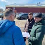 Депутат помогает сормовичам улучшить дорожное движение на улице Базарной
