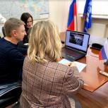 Владимир Жук и Елена Андреева провели прием жителей по вопросам ЖКХ