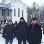 Депутаты фракции «Единая Россия» Законодательного Собрания Пензенской области приняли участие в проводах зимы в Кузнецке