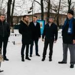 Жуковские единороссы проверили состояние сквера на улице Луч в рамках партпроекта «Городскя среда»
