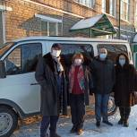 Депутат «Единой России» приобрел автомобиль для Озерского социально-реабилитационного центра
