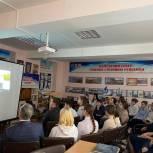 Депутаты-единороссы проводят в тюменских школах презентацию фильма  «Морская кавалерия»