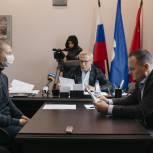Вячеслав Фетисов провел прием жителей Ленинского округа