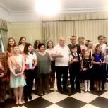 Одинцовские партийцы наградили выпускников Большевяземской детской школы искусств