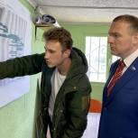 Единороссы Солнечногорска проверили ход строительства новой школы в Рекинцо - 2