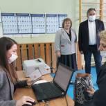 Олег Жолобов проверил работу участков в Домодедове