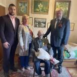 Ветеран Великой Отечественной войны 9 мая отметил двойной праздник