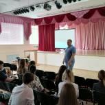 Илья Яхонтов побывал на КИНОуроке в костромской школе