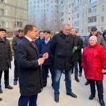 Депутат окружного парламента принял участие в собрании жильцов по вопросу благоустройства
