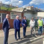 Лариса Лазутина и Дмитрий Голубков проверили ход дорожного ремонта в Одинцово