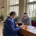 Владимир Пекарев принял участие в предварительном голосовании «Единой России»