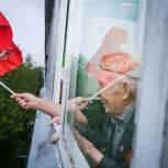 Партийцы провели акцию «Поющие дома» для ветеранов из Ликино и Жаворонок