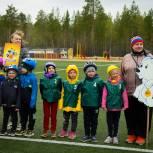 Единороссы помогли организовать велогонку среди дошколят Ноябрьска
