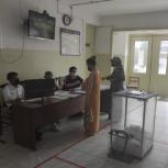 Жители Кумторкалинского района активно голосуют