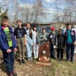 В рамках партпроекта «Историческая память» шестиклассники Травниковской школы перед Днём Победы организовали акцию «Никто не забыт»