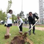 Игорь Брынцалов с выпускниками из Балашихи принял участие в акции «Лес Победы»