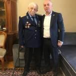 Единороссы Советского района столицы поздравили ветеранов Великой Отечественной войны