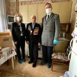 В Химках единороссы поздравили ветерана Великой Отечественной войны