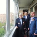 Владимир Шапкин оказал адресную помощь труженику тыла из Балашихи