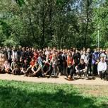 «Единая Россия» провела экологический забег в Битцевском детском парке