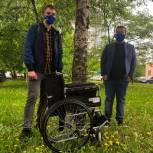 Общественная приемная приобрела инвалидную коляску для ветерана Великой Отечественной войны