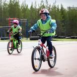 «Единая Россия» помогла организовать велогонку среди дошкольных учреждений Ноябрьска