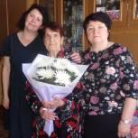 Жительницу Кыштовского района поздравил с юбилеем секретарь Генсовета партии