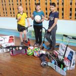 Воспитанникам школы-интерната «Горизонт» подарили спортивное оборудование