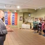 Николай Черкасов открыл выставку предметов славянского быта в Балашихе