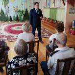 Андрей Голубев представил отчёт о проделанной работе коллективам детских садов городского округа Пущино
