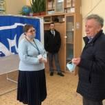 Сергей Юдаков проверил работу счётных участков в Солнечногорске