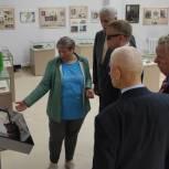 Владимир Вшивцев посетил музей в городском округе Шаховская