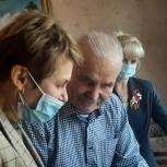 Елена Чечунова поздравила ветеранов с Днем Победы