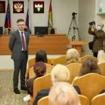 Дмитрий Исламов рассказал об итогах работы жителям Кемеровского района