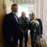 Ветераны Великой Отечественной войны приняли поздравления с Днем Победы