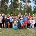 В Солотче высадили «Аллею космонавтики»