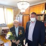 Депутаты Саратовской городской Думы поздравили ветеранов с Днем Победы