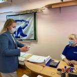 Линара Самединова проголосовала на праймериз «Единой России» в Балашихе
