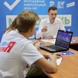 Молодежный избирательный штаб наблюдает за ходом предварительного голосования
