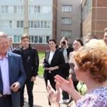 Депутат Панков: Начинаем строительство первых четырех пришкольных спортплощадок в Балаково