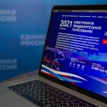 Абсолютный рекорд: Почти 5 млн человек приняли участие в электронном предварительном голосовании «Единой России»